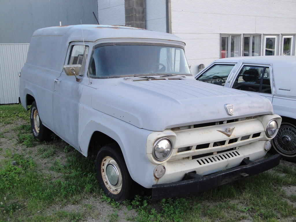 The Worlds Best Photos Of 57 And Panel Flickr Hive Mind 1957 Chevy Van Ford F 100 Crown Star Images Tags County Cars