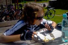 Naleniki z truskawkami. (Przemek Brzezicki) Tags: bike bicycle cycling mtb dolina karkonosze rowery szklarskaporba szklarska izery