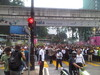 Bersih crowd on Jalan Sultan Ismail - Jalan Ampang junction by freemalaysiatoday