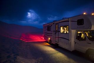 Leaving White Sands