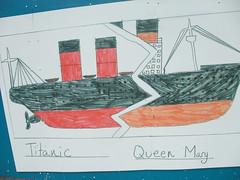 children's vessel drawings Southampton