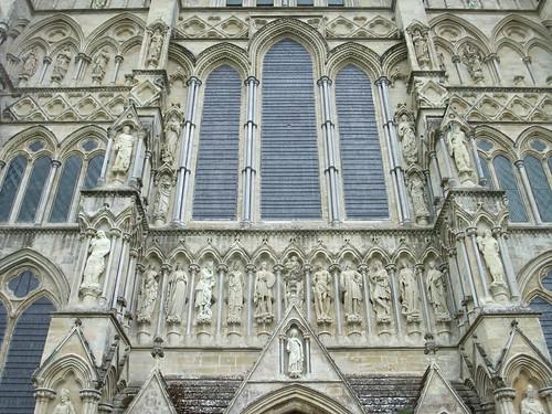 Salisbury Cathedral facade