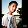311/365 (Eric V. Santos) Tags: family boy sunset portrait sun lake smile project child son 365 kenny strobist