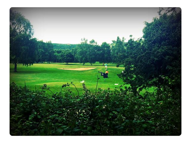Golfing in The Malverns