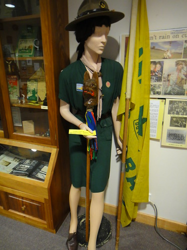 Lady Cub Master Uniform by Tasmanian Scout Heritage Centre