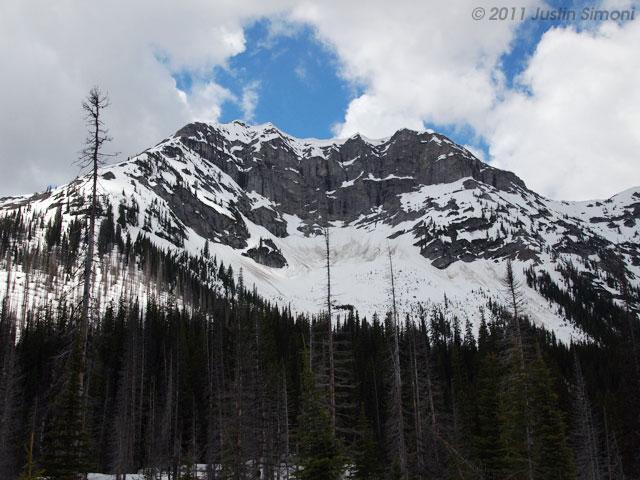 Mountain in the Canadian Flathead