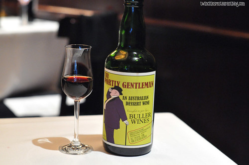 The Portly Gentleman Dessert Wine at Capital Grille ~ Minneapolis, MN