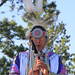 2011, July 7 Lecture Series Art Red Horse performs