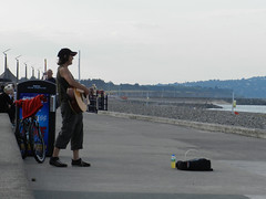 Tuesday afternoon on Bray Seafront