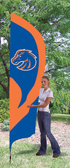 Boise State Tall Feather Flag