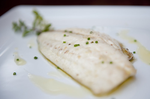 Dish of the day: Pan-fried sea bream at Aura