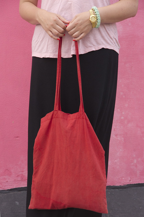 pink, black & red