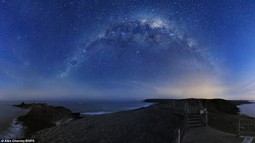 The Milky Way so close you can almost taste it Breath-taking snaps of galaxy seen with the naked eye  3