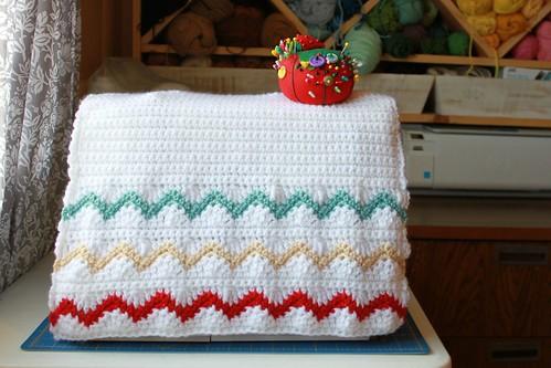 5936015162 e18935f318 Chevron Stripes Sewing Machine Cover
