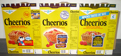 1984 General Mills Cheerios Cereal Boxes (gregg_koenig) Tags: door signs trek star glasses cool babies general manhattan muppets cereal peanuts joe snoopy 1984 record boxes cheerios woodstock mills 1985 1979 starship ironons