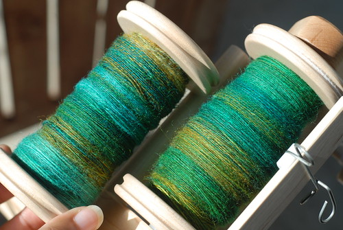 TdF: Day 13, 2nd bobbin done!