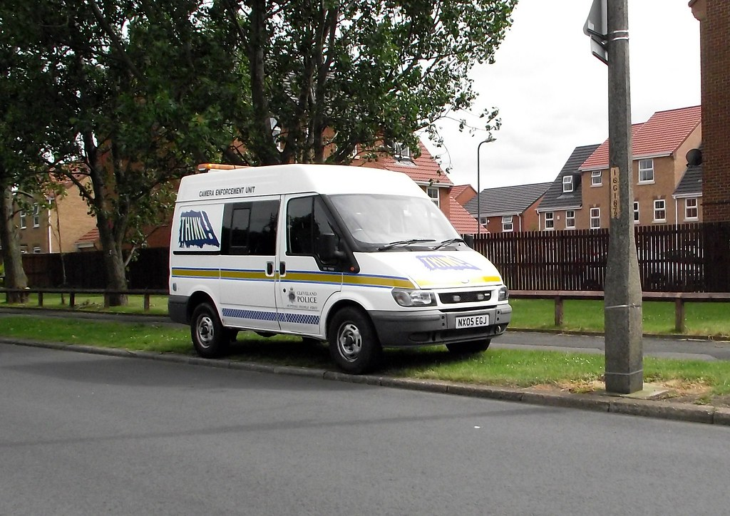 Police Speed camera Ford Transit