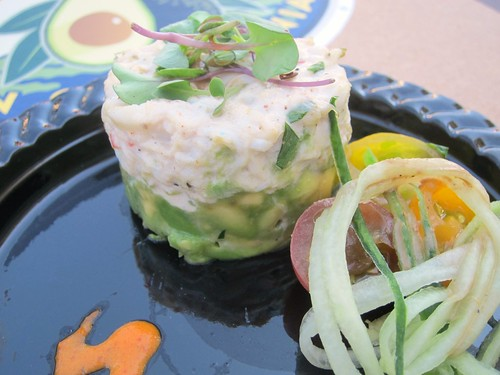 Crab Ravigote and Avocado Napoleon