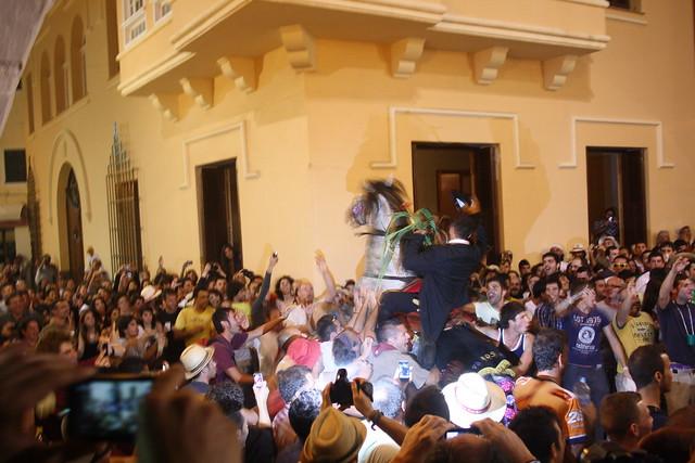 caballos Sant Joan Ciutadella Menorca