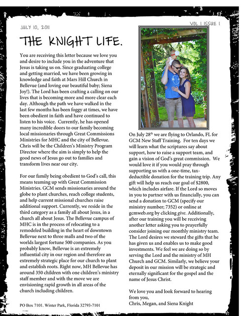 Microsoft Word - The Knight Life.doc