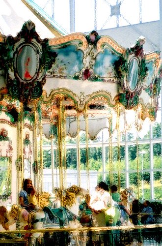 Carousel Monet by Seeking Tao
