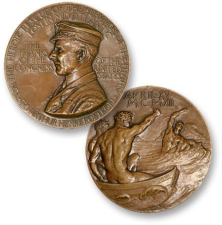 Rostron medal Medallic Art