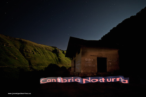 Cantabria Nocturna 3D Light Painting.