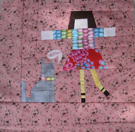 girl block #1 for Sarah