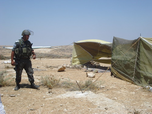 Israeli Outpost and Soldier