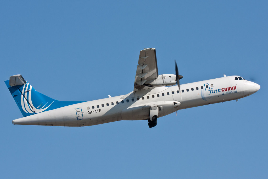 Finncomm Airlines - OH-ATF - ATR 72-212A