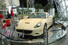 Ferrari California (AlBargan) Tags: world california lumix ferrari panasonic abudhabi abu dhabi     lx3  dmclx3