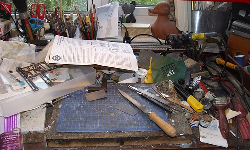 Messy Bench