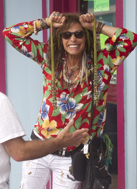 EXCLUSIVE: Steven Tyler is vacationing in Hawaii