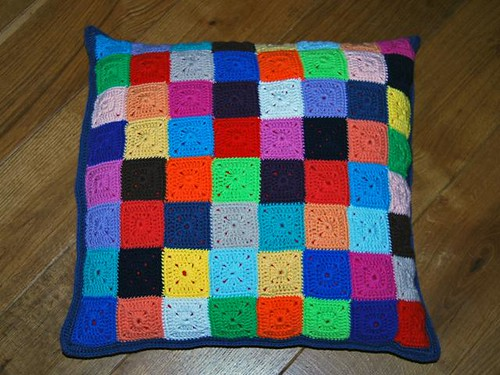 cushion cover side a ('elmer')