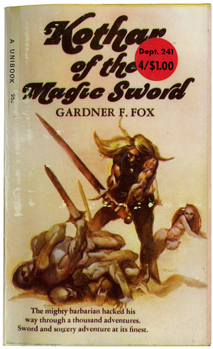 K fox and the magic sword