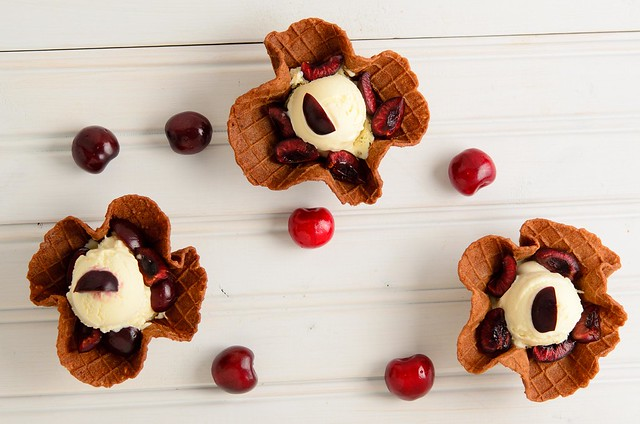 Vanilla Cherry Bowls