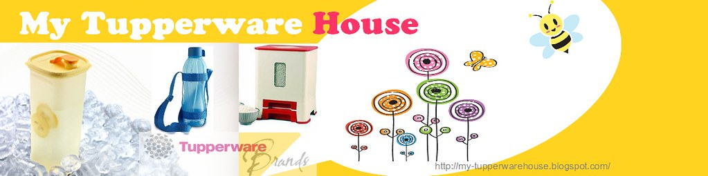 my tupperware house banner