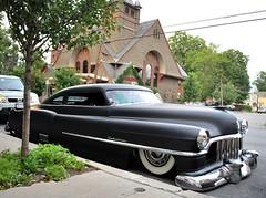 Cadillac Lead Sled, Rhinebeck, NY (63vwdriver) Tags: new york ny hot vintage low cadillac rod sled rider lead rhinebeck lowered caddy