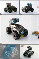 GRUNT Light Assault Vehicle (Pierre E Fieschi) Tags: fiction light lego jeep pierre ground rover science assault micro scifi vehicle rocket missile buggy futuristic launcher unit microspace fieschi microscale microspacetopia