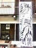ritagliando per il bloop (ufocinque) Tags: street art festival painting ibiza installation mapping bloop 2011 ufo5 ufocinque biokip