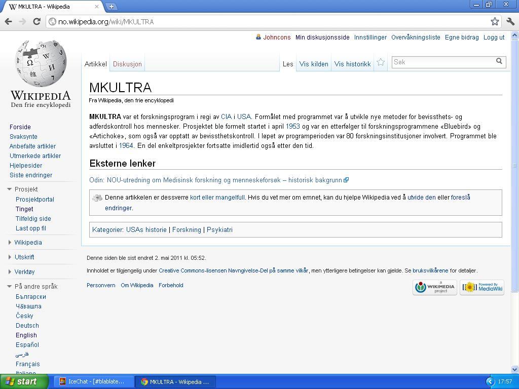 mer om mk ultra