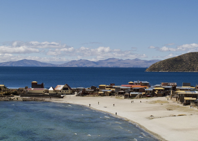 Isla del Sol, plaj