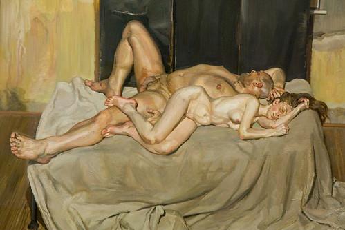Lucian Freud by gsz