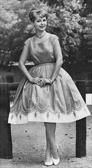 the 1950s-1959 dress (april-mo) Tags: dress the50s vintagefashion the1950s 1959fashion vintagecatalogue 1959dress