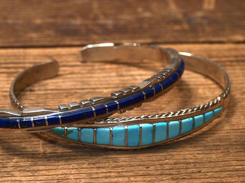 Indian Jewelry / Zuni Silver Bangle