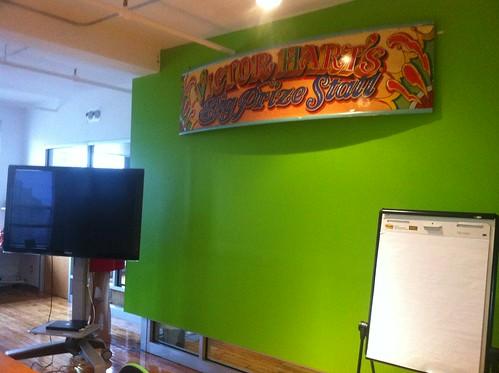 Big Prize Stall brainstorm area!