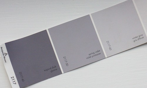 paint - winter gray