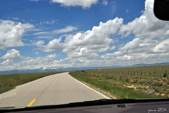 The Best Place To Be- On The Road (pam's pics-) Tags: sky mountains clouds colorado co rockymountains ontheroad cloudysky highway14 waldencolorado ttw throughmywindshield pammorris pamspics northparkcolorado