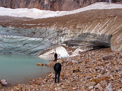 Angel Glacier on Mt. Edith Cawell, Jasper NP, Canada (Pixmac_com_br) Tags: summer two people sun canada man mountains men travelling tourism nature water sunshine weather person landscapes daylight couple rocks seasons looking desert adult masculine stones watching lakes dry tourists glacier hills males daytime summertime np nationalparks ponds 2people twopeople naturalworld humans admiring exteriors waterlevel angelglacier jaspernp 18years backportrait utdoors mtedithcawell