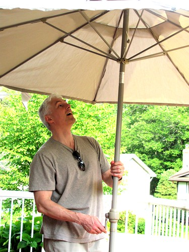 Reg & Our New Umbrella